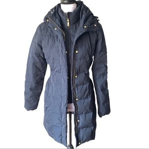 Cole Haan Signature Down Coat Small Navy